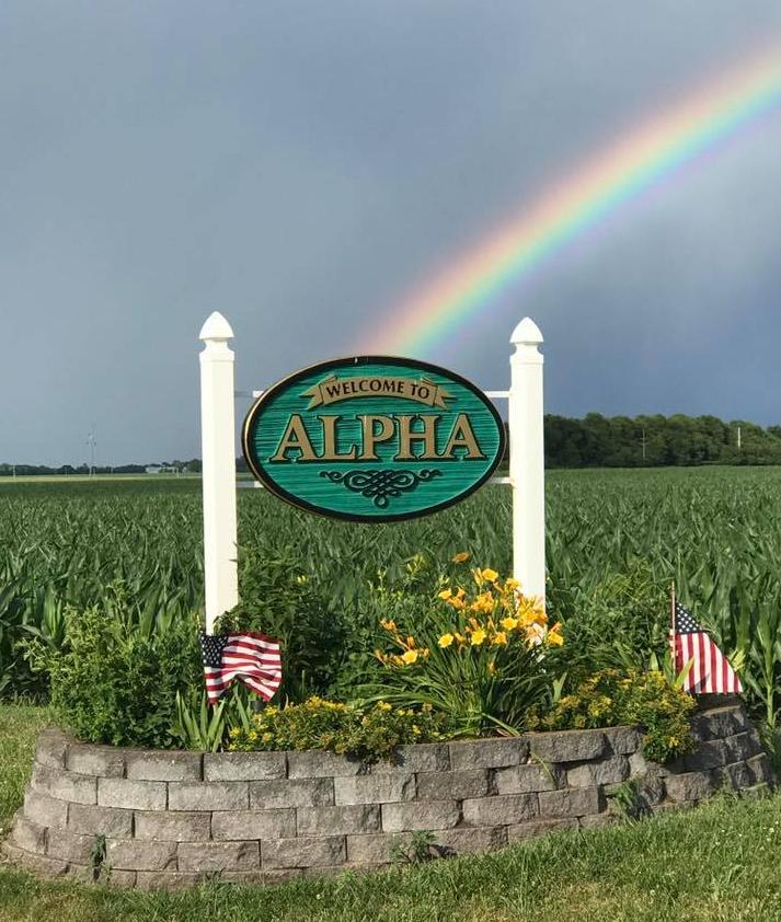 Alpha Sign